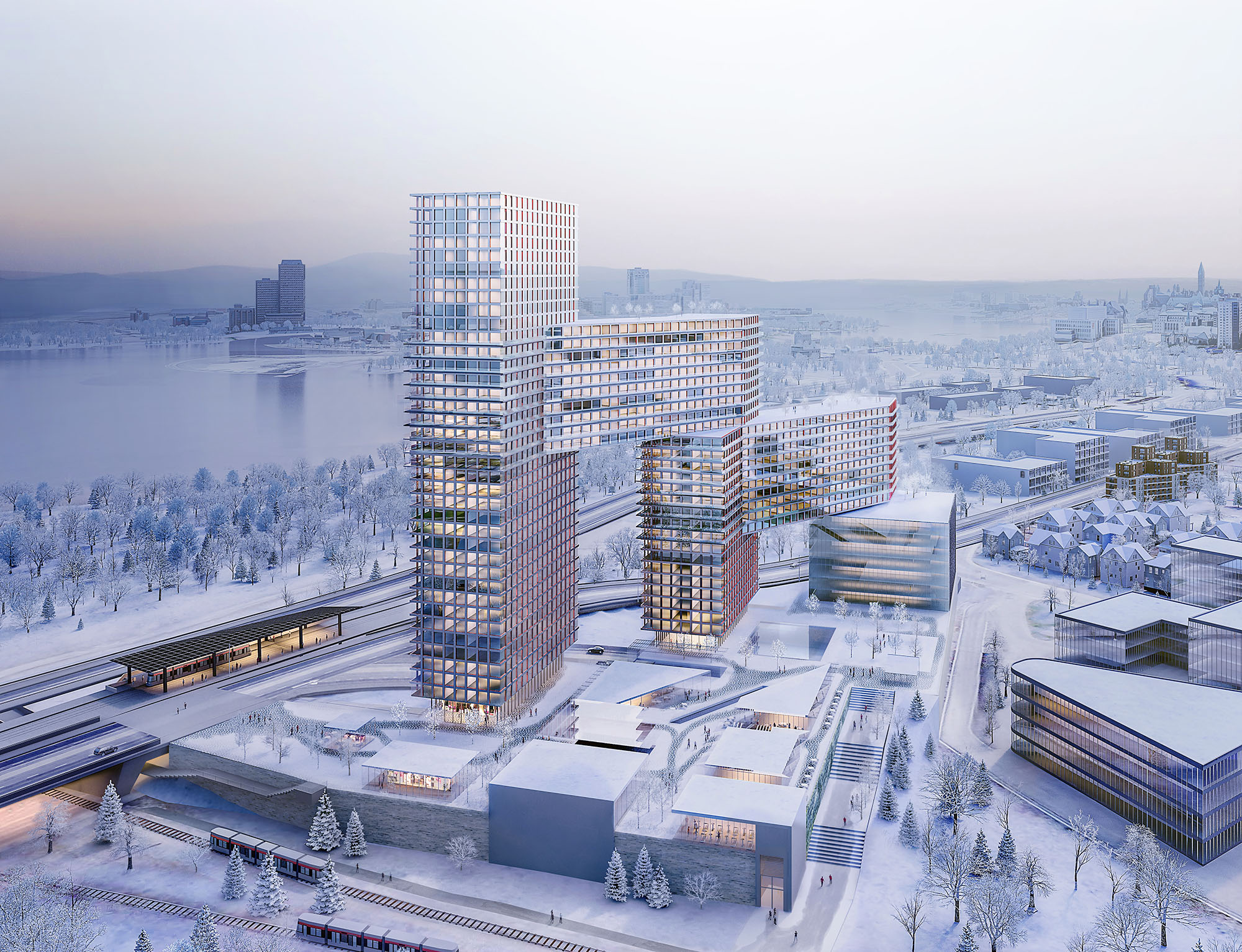 rendering Calgary Snow