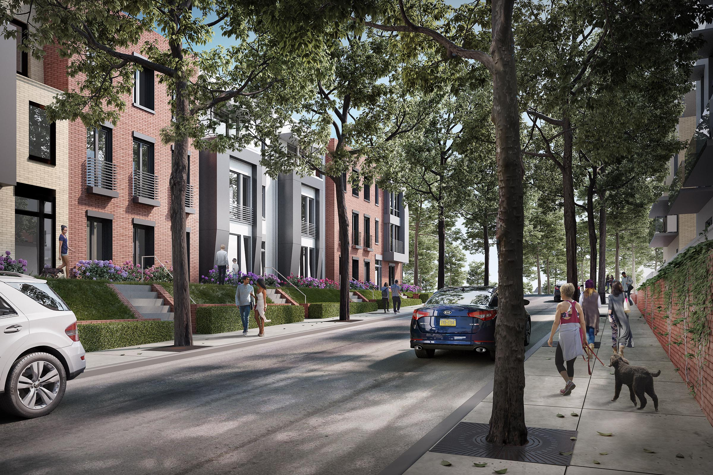 Rendering Long Island Apartments