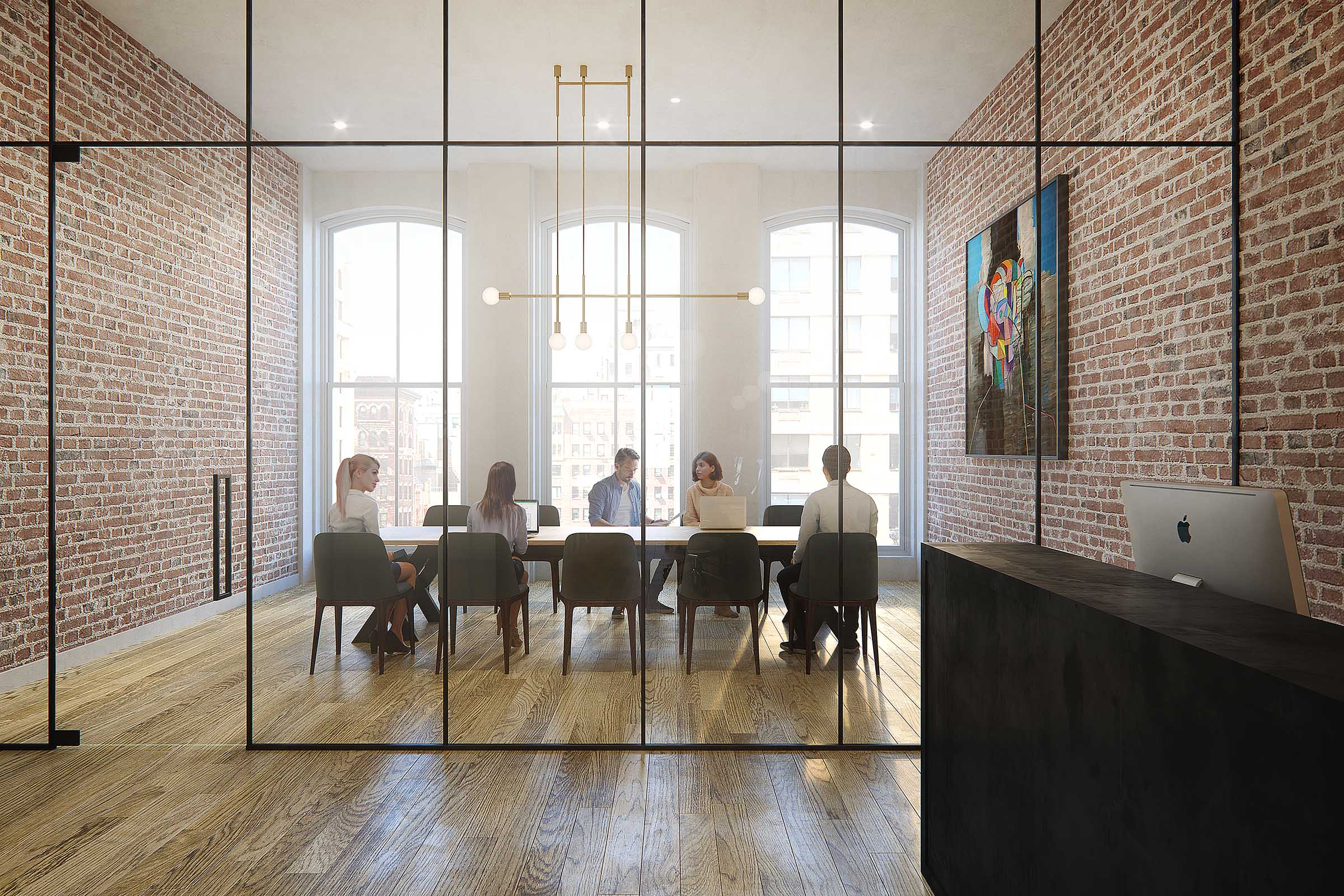 Conference Room Rendering real estate new york
