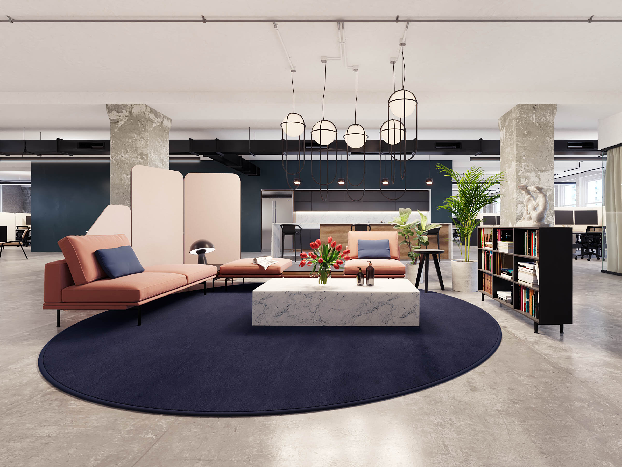 covid VR office design nyc