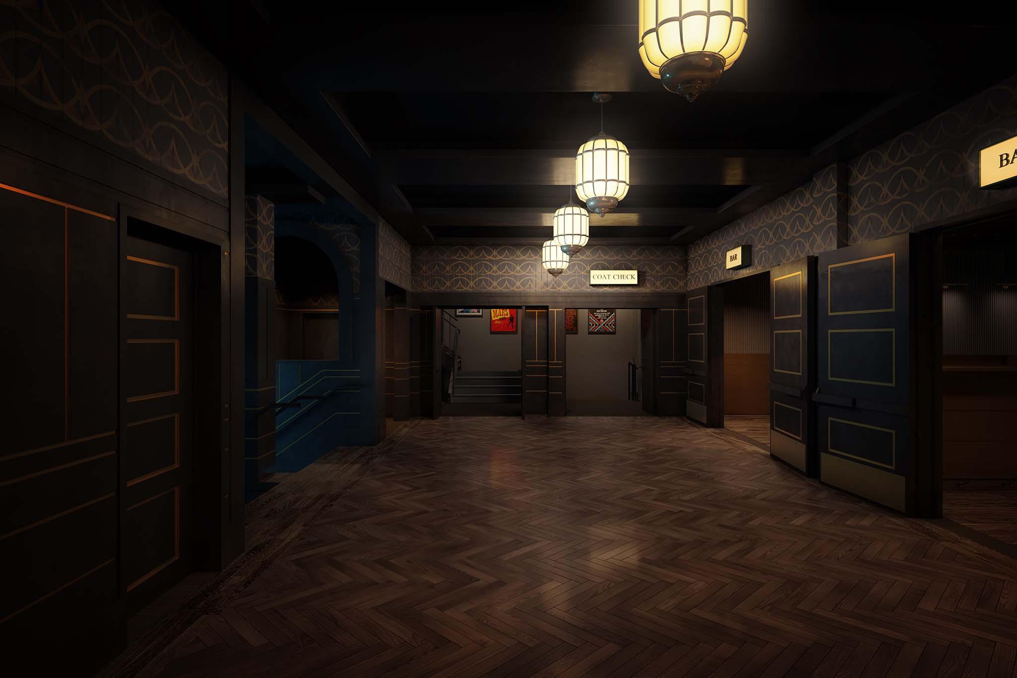 webster hall rendering